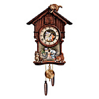 Moments Of Purr-fection Cuckoo Clock
