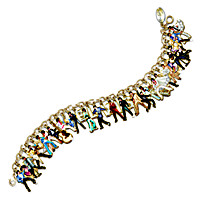 Ultimate Elvis Charm Bracelet