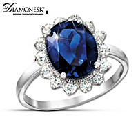 Royal Inspiration Diamonesk Ring Inspired By Princess Diana