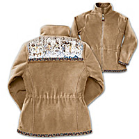 Spirits In The Wilderness Fleece Jacket