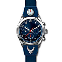 U.S. Air Force Sportsman's Men's Watch