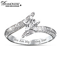 My Daughter, You Are My Shining Star Ring