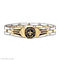 New Orleans Saints Men's Bracelet