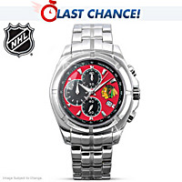 Chicago Blackhawks® 2010 Stanley Cup® Men's Watch