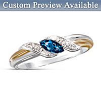 Embrace Birthstone Ring