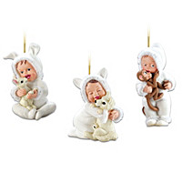 Cool Cuties Ornament Set: Set Two