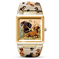 I Love My Dog Women's Watch
