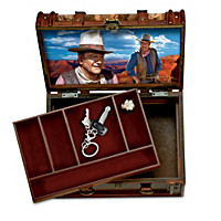 John Wayne Stagecoach Trunk Valet Box