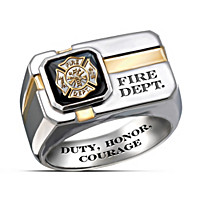 For My Firefighter Ring