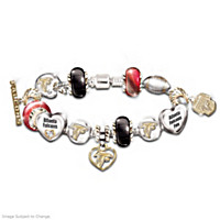 Go Falcons! #1 Fan Charm Bracelet