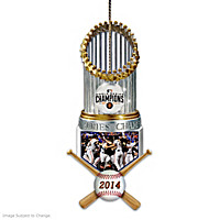 San Francisco Giants 2014 World Series Champions Ornament