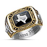 Spirit Of Texas Diamond Ring