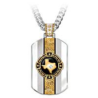 Texas Pride Pendant Necklace