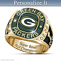 Green Bay Packers Ring