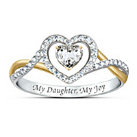 My Daughter, My Joy Ring