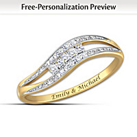Enchantment Personalized Diamond Ring