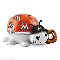 Miami Marlins Love Bug Music Box
