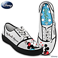 Disney Kissin' Mickey & Minnie Women's Shoes