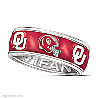 Oklahoma Sooners #1 Fan Ring