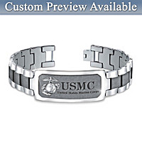 Semper Fi Personalized Men's Bracelet