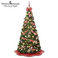 Thomas Kinkade The Perfect Christmas Pull-Up Tree