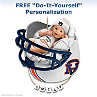 Auburn Tigers Baby's First Ornament