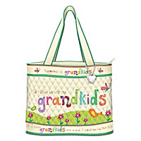Grandkids Rule! Tote Bag