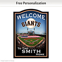 San Francisco Giants Personalized Wall Decor