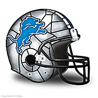 Detroit Lions Football Helmet Accent Lamp