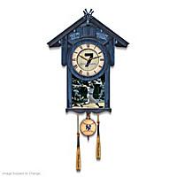 Mickey Mantle Cuckoo Clock