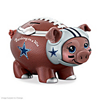 Banking On A Win Dallas Cowboys Football Piggy Bank