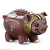 Banking On A Win New Orleans Saints Football Piggy Bank