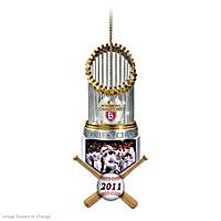 St. Louis Cardinals 2011 World Series Champions Ornament