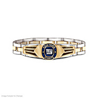 New York Giants Stainless Steel Men's Bracelet