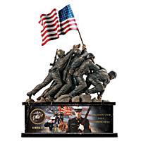 USMC Iwo Jima Memorial Tribute Sculpture