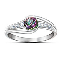Mystic Enchantment Topaz Ring