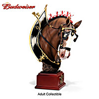 Budweiser Majestic Clydesdale Masterpiece Sculpture