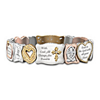 Faith Is Believing Bracelet