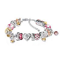 Heartfelt Wishes For My Granddaughter Bracelet