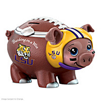 Banking On A Win Louisiana State University Piggy Bank