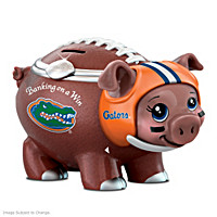 Banking On A Win University Of Florida Football Piggy Bank