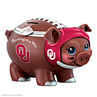 Banking On A Win University Of Oklahoma Football Piggy Bank
