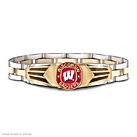 Wisconsin Badgers Men's Bracelet