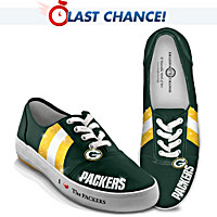 I Love The Packers Women's Shoes