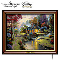 Thomas Kinkade Stillwater Cottage Wall Decor