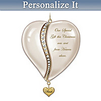 From The Heart Baby's First Christmas Personalized Ornament