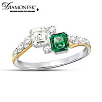 Jacqueline Diamonesk Ring