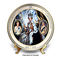 Queen Elizabeth II Diamond Jubilee Collector Plate