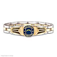 San Diego Chargers Men's Bracelet