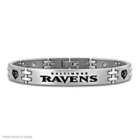 Ravens Strong! Men's Bracelet